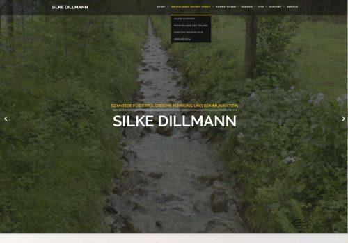 Silke Dillmann, Web