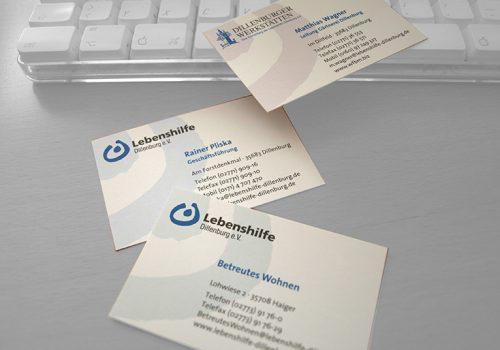 Printdesign. Mischung