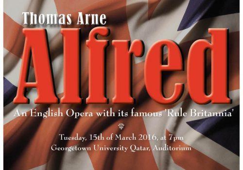 Concert Alfred, Thomas Arne
