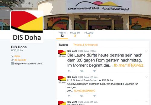 DIS Doha, Social Media
